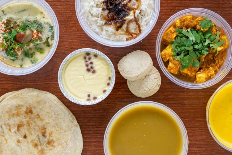 thali Indian food