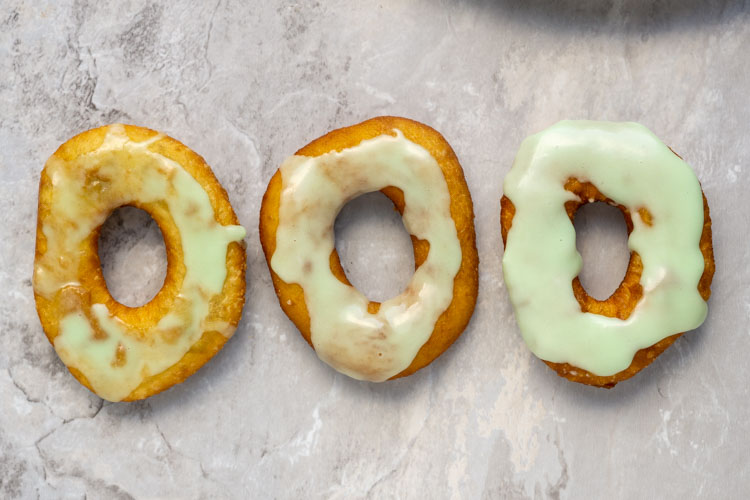 donuts with different icings